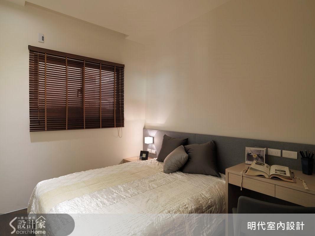 31坪預售屋_休閒風臥室案例圖片_明代室內裝修設計有限公司_明代_13之20