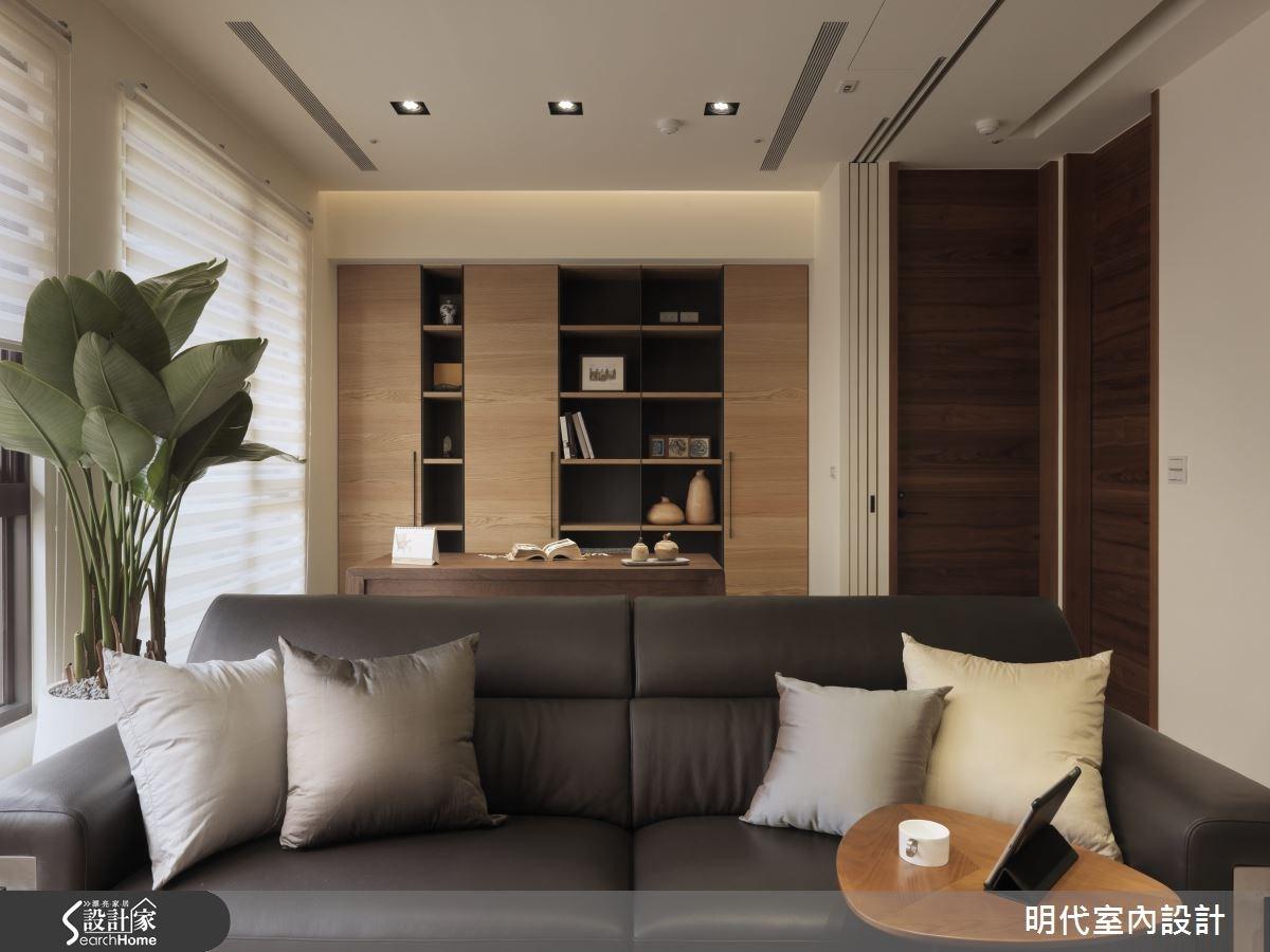28坪新成屋(5年以下)_療癒風客廳案例圖片_明代室內裝修設計有限公司_明代_14之3