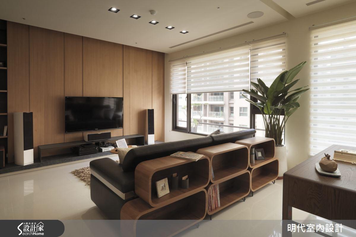 28坪新成屋(5年以下)_療癒風客廳案例圖片_明代室內裝修設計有限公司_明代_14之4