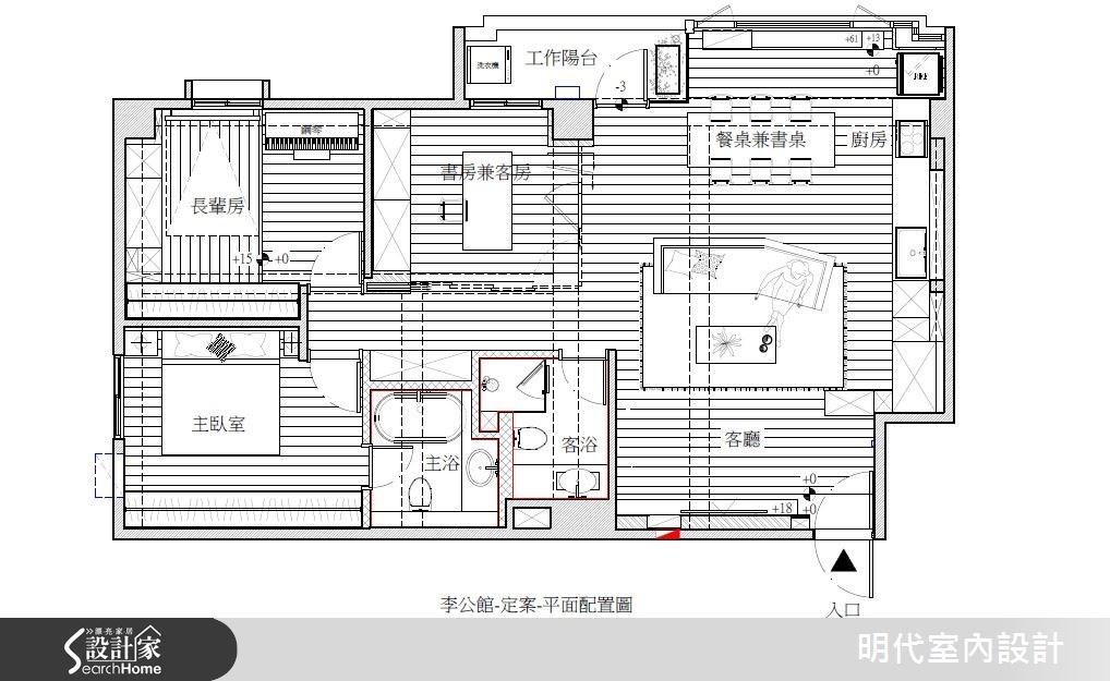 35坪老屋(16~30年)_休閒風案例圖片_明代室內裝修設計有限公司_明代_16之21