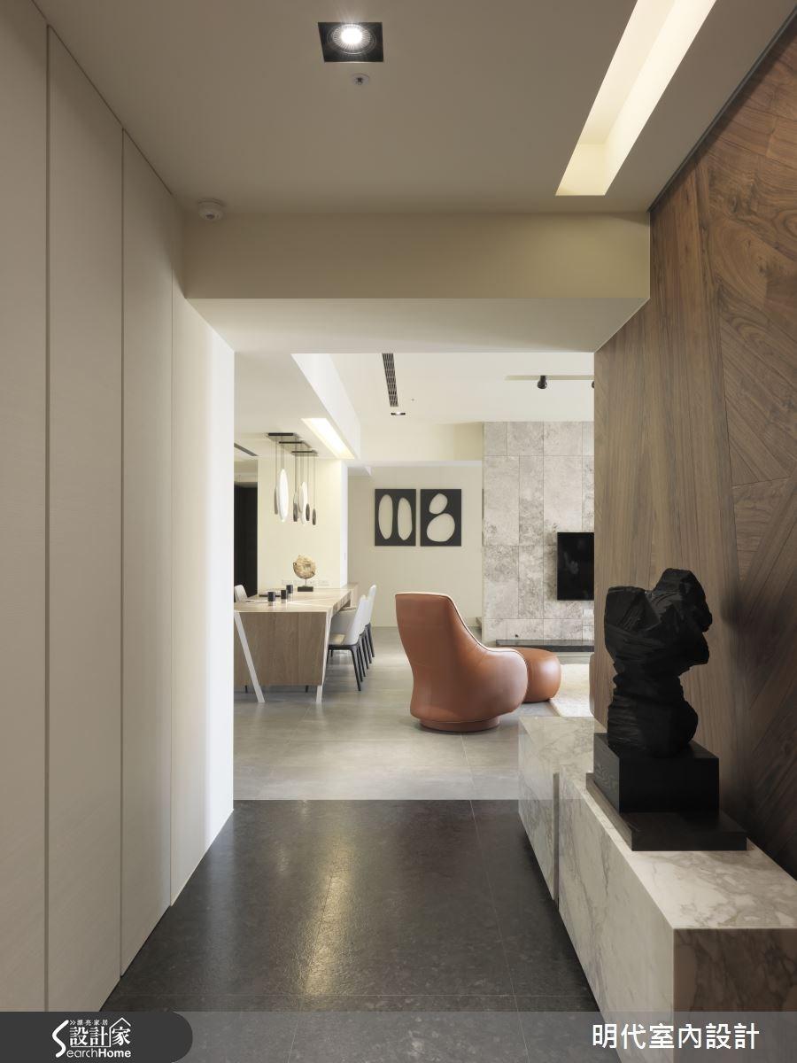 64坪_現代風走廊案例圖片_明代室內裝修設計有限公司_明代_18之1
