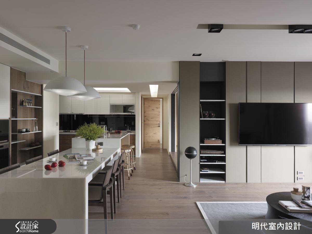 43坪新成屋(5年以下)_休閒風餐廳案例圖片_明代室內裝修設計有限公司_明代_19之3