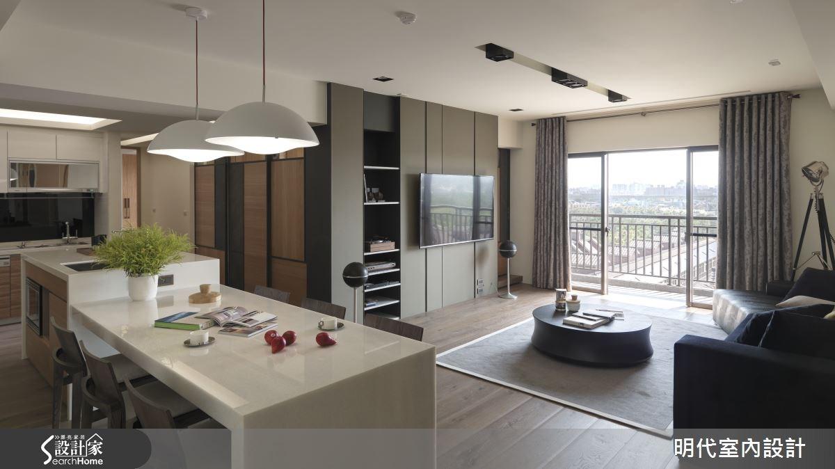 43坪新成屋(5年以下)_休閒風餐廳案例圖片_明代室內裝修設計有限公司_明代_19之4