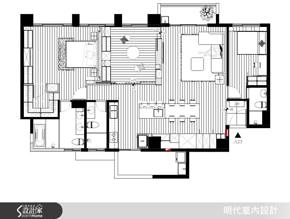43坪新成屋(5年以下)_休閒風案例圖片_明代室內裝修設計有限公司_明代_19之18