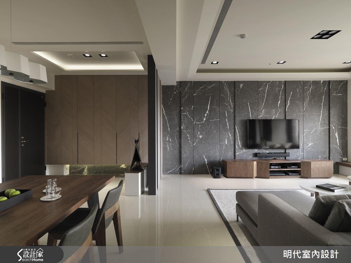 60坪新成屋(5年以下)_現代風客廳案例圖片_明代室內裝修設計有限公司_明代_20之2