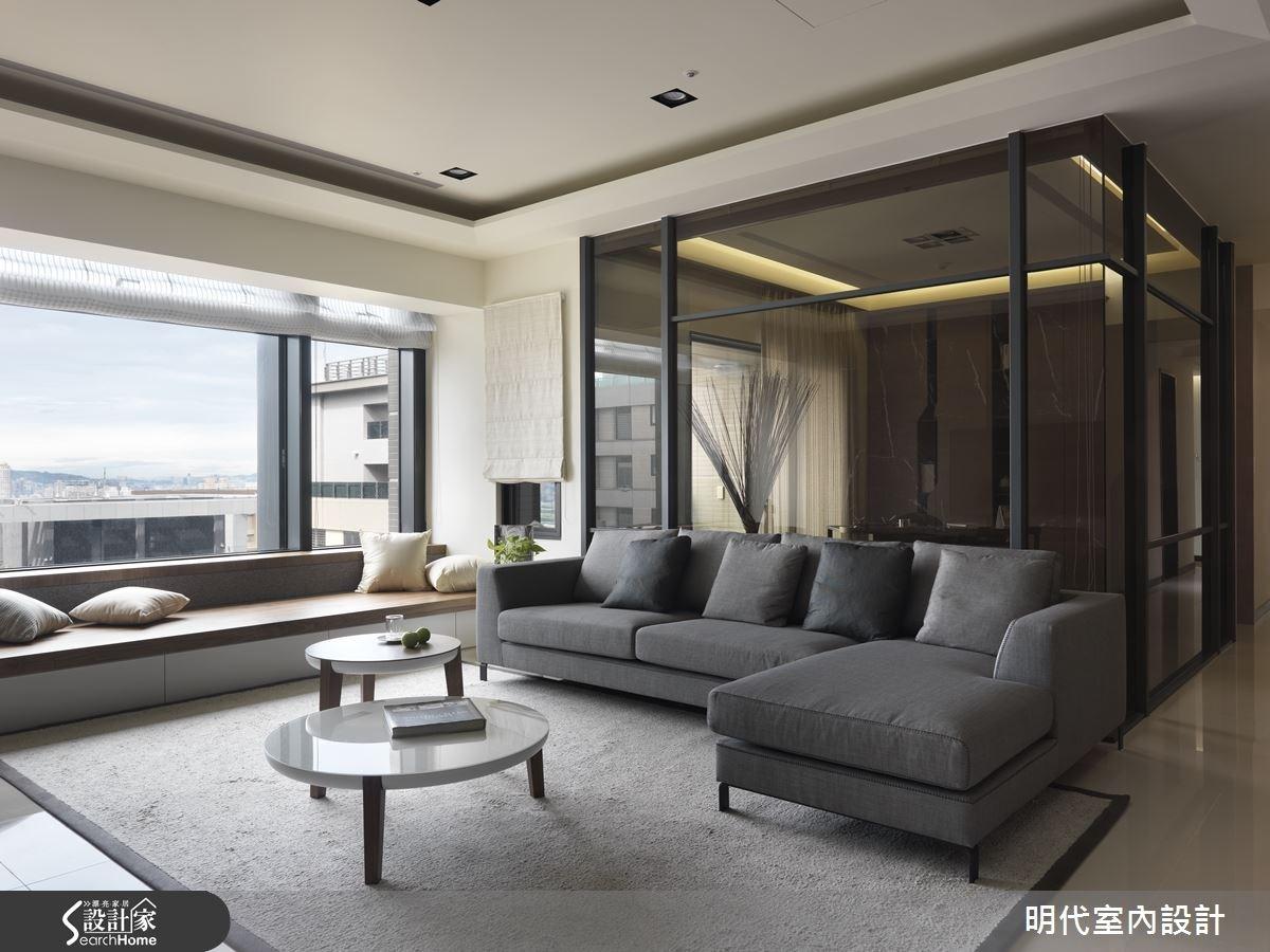 60坪新成屋(5年以下)_現代風客廳案例圖片_明代室內裝修設計有限公司_明代_20之4