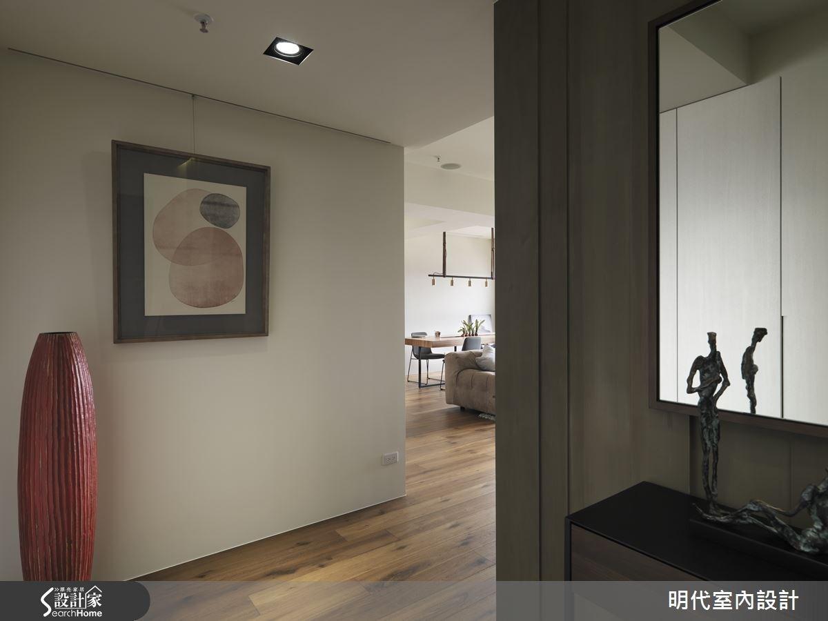 30坪新成屋(5年以下)_現代風玄關案例圖片_明代室內裝修設計有限公司_明代_21之2