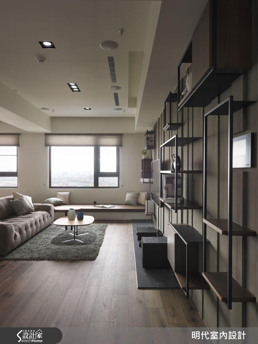 30坪新成屋(5年以下)_現代風客廳案例圖片_明代室內裝修設計有限公司_明代_21之3