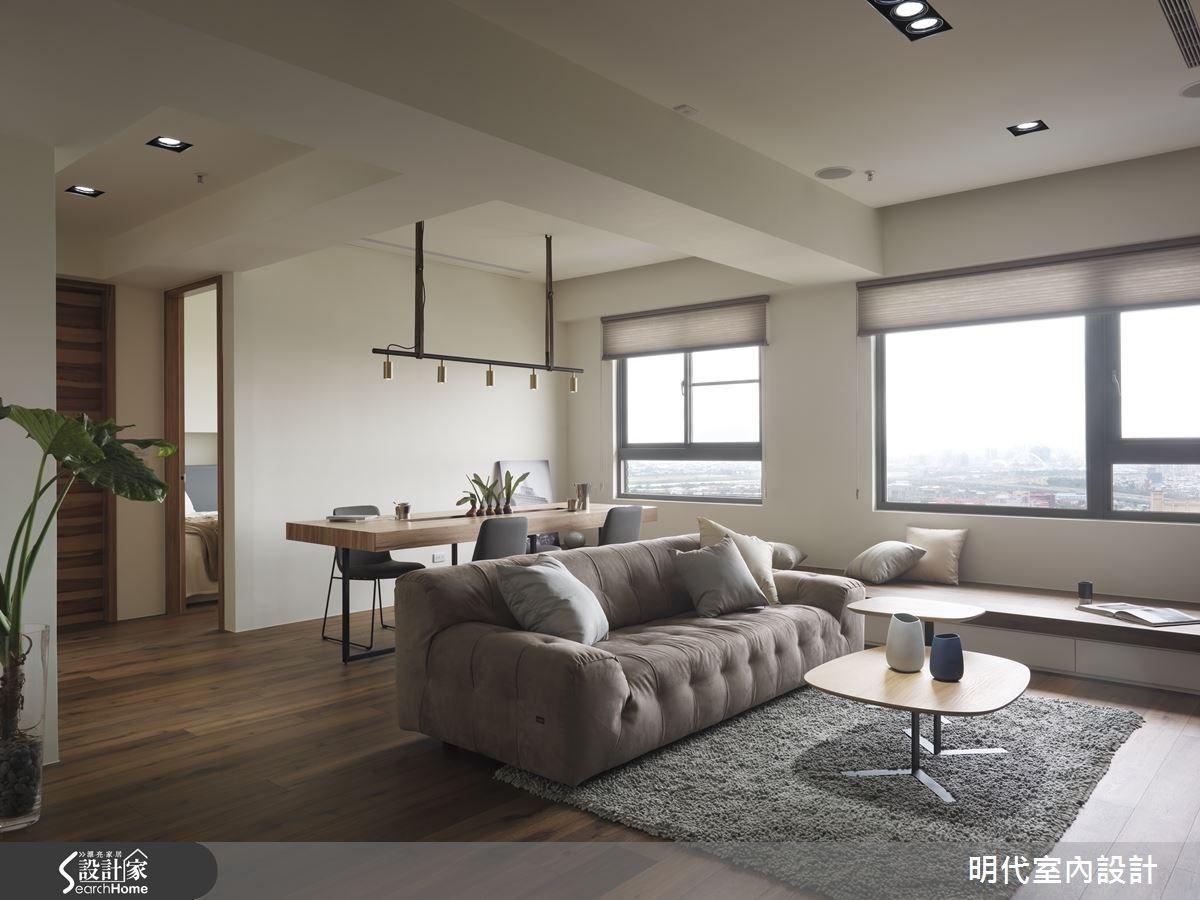 30坪新成屋(5年以下)_現代風客廳案例圖片_明代室內裝修設計有限公司_明代_21之6