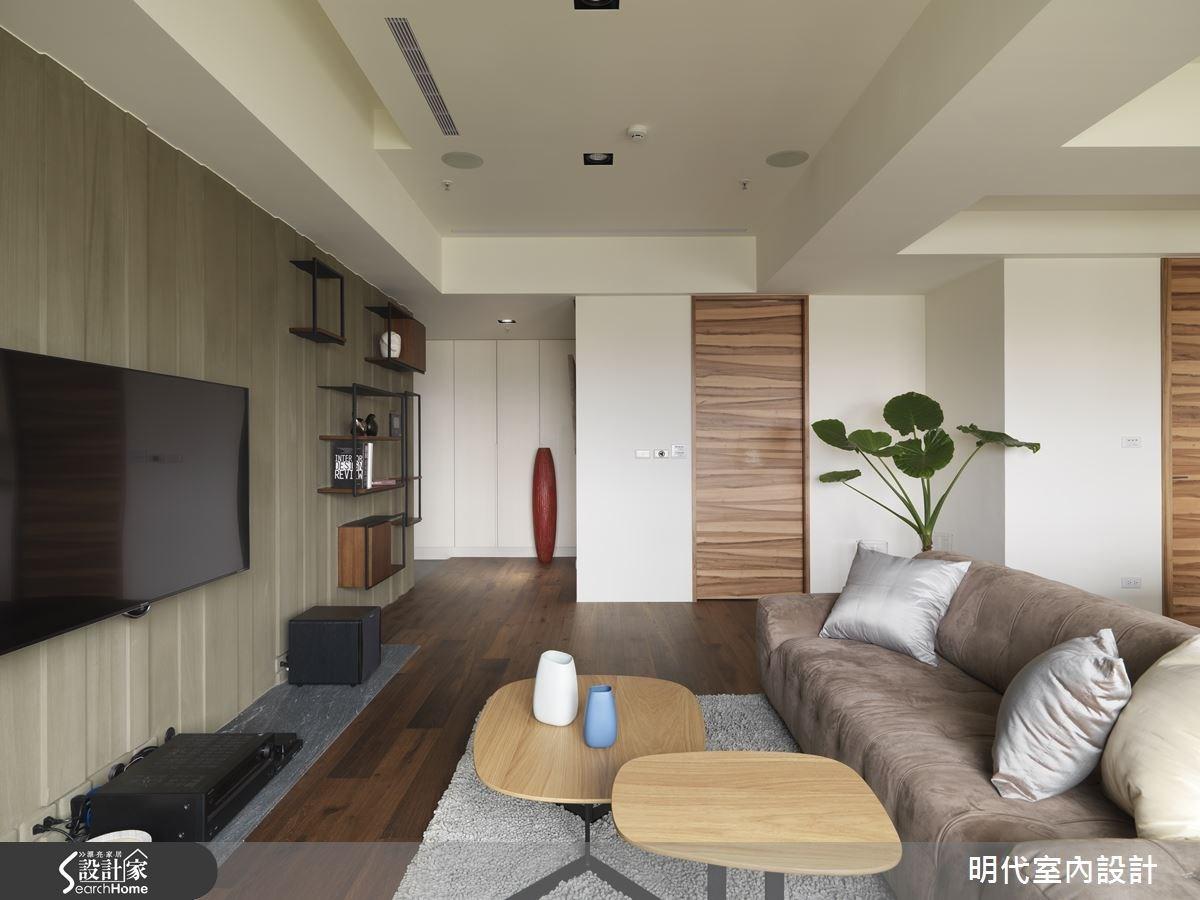 30坪新成屋(5年以下)_現代風客廳案例圖片_明代室內裝修設計有限公司_明代_21之7