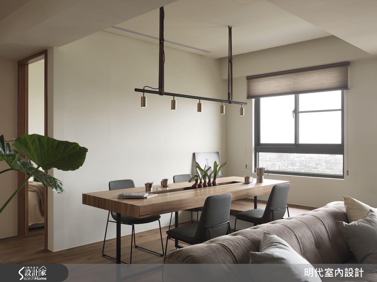 30坪新成屋(5年以下)_現代風餐廳案例圖片_明代室內裝修設計有限公司_明代_21之10