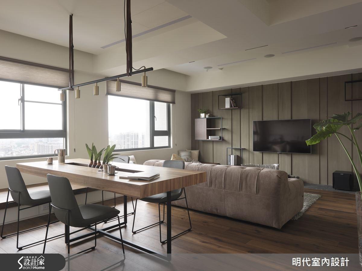 30坪新成屋(5年以下)_現代風餐廳案例圖片_明代室內裝修設計有限公司_明代_21之12