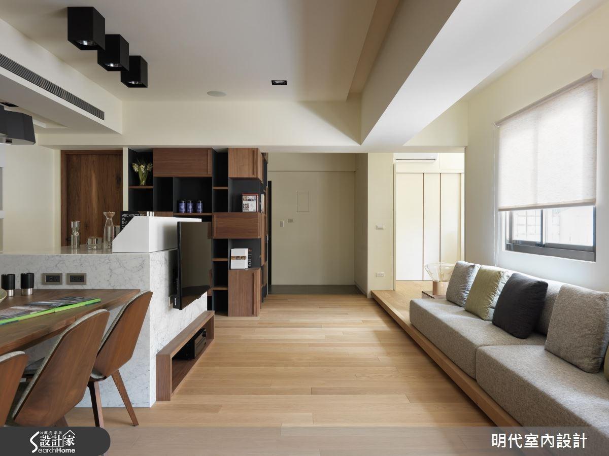 25坪老屋(16~30年)_休閒風案例圖片_明代室內裝修設計有限公司_明代_23之4