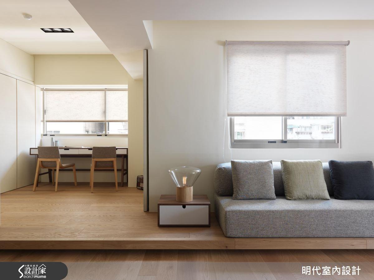25坪老屋(16~30年)_休閒風案例圖片_明代室內裝修設計有限公司_明代_23之14