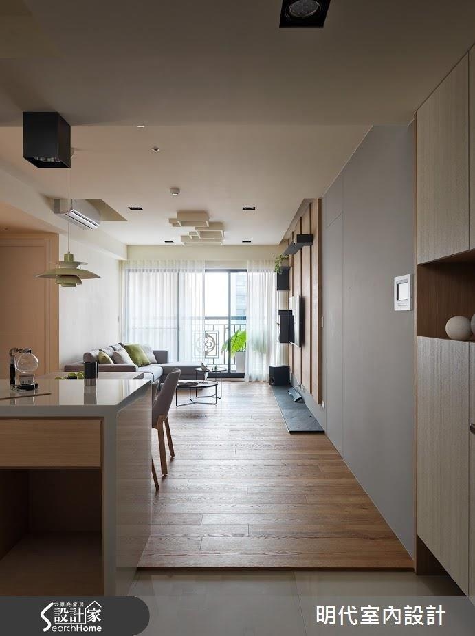 25坪新成屋(5年以下)_休閒風玄關案例圖片_明代室內裝修設計有限公司_明代_25之1