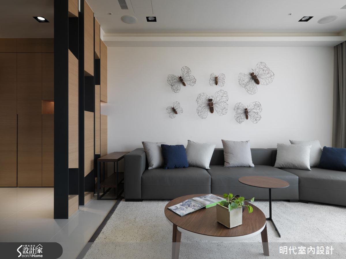 48坪新成屋(5年以下)_現代風客廳案例圖片_明代室內裝修設計有限公司_明代_26之2