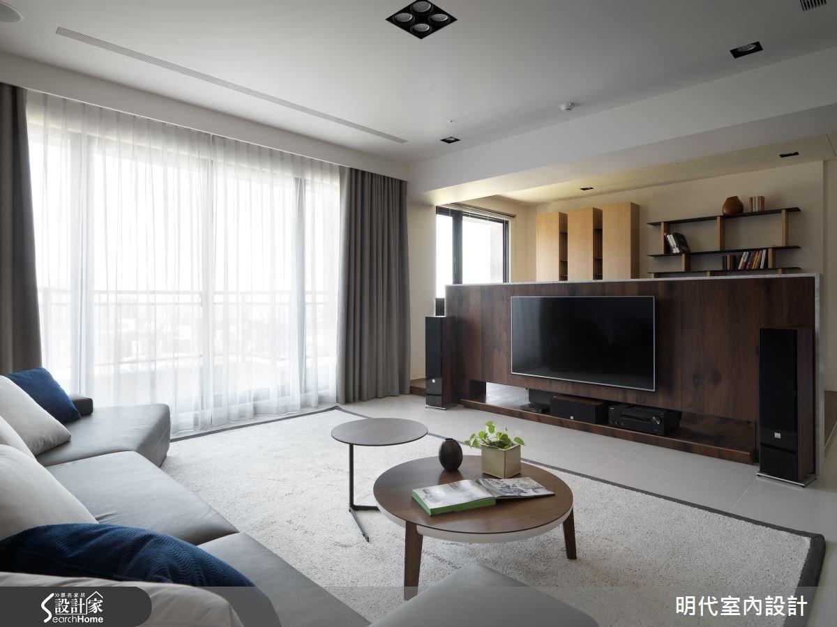 48坪新成屋(5年以下)_現代風客廳案例圖片_明代室內裝修設計有限公司_明代_26之3
