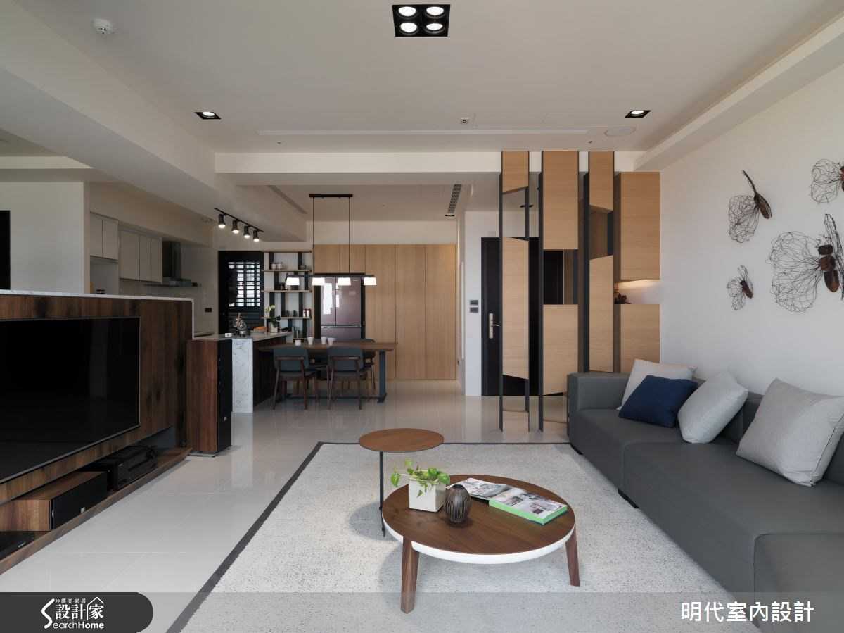 48坪新成屋(5年以下)_現代風客廳案例圖片_明代室內裝修設計有限公司_明代_26之4