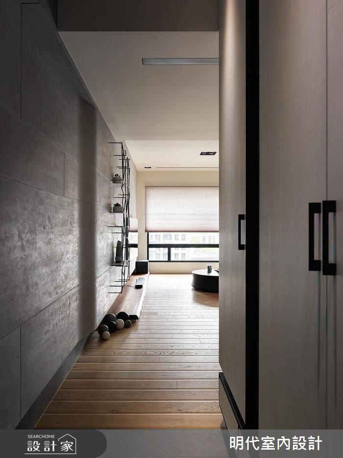 40坪新成屋(5年以下)_現代風玄關案例圖片_明代室內裝修設計有限公司_明代_29之1