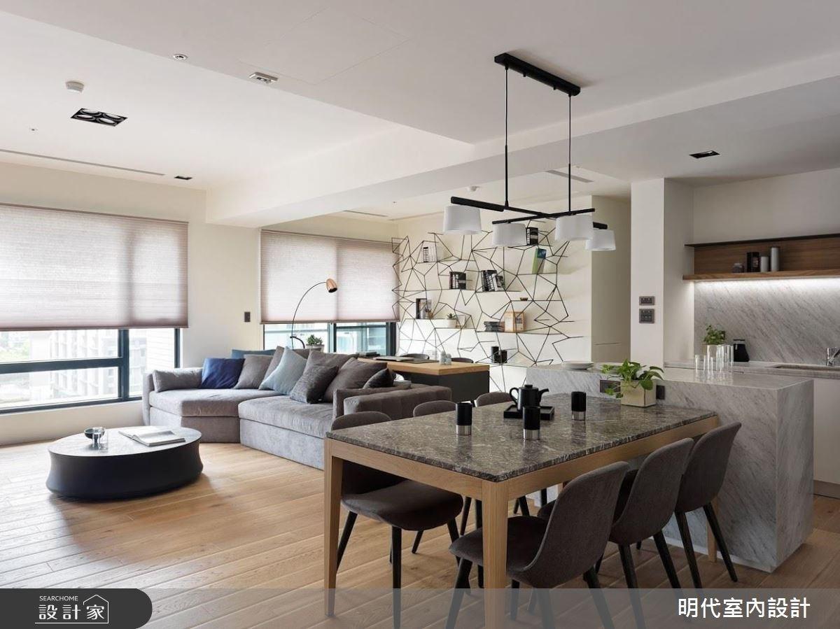 40坪新成屋(5年以下)_現代風餐廳案例圖片_明代室內裝修設計有限公司_明代_29之2