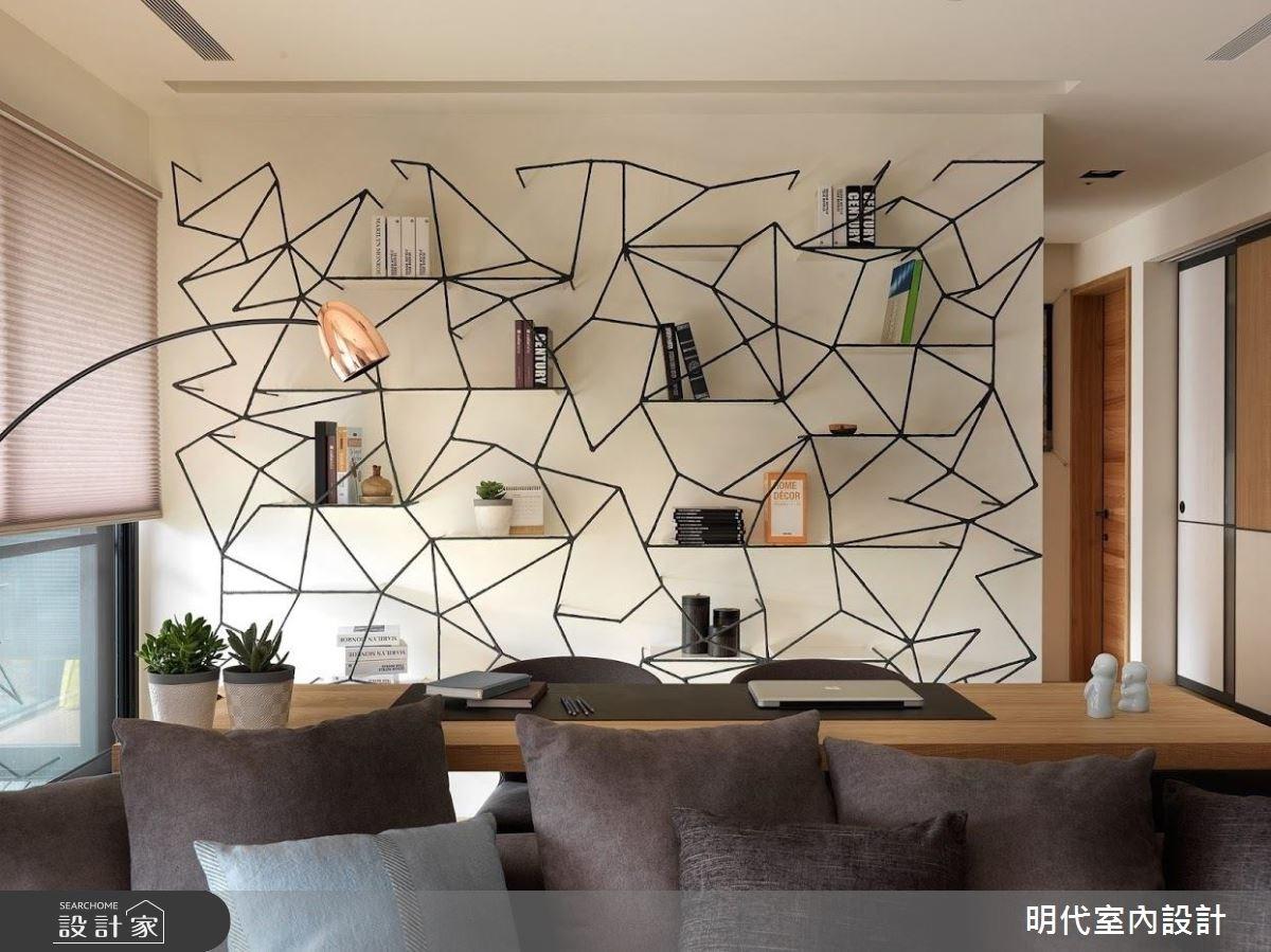 40坪新成屋(5年以下)_現代風工作區案例圖片_明代室內裝修設計有限公司_明代_29之4