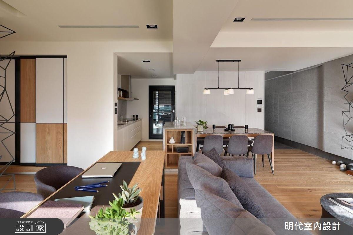 40坪新成屋(5年以下)_現代風客廳案例圖片_明代室內裝修設計有限公司_明代_29之16