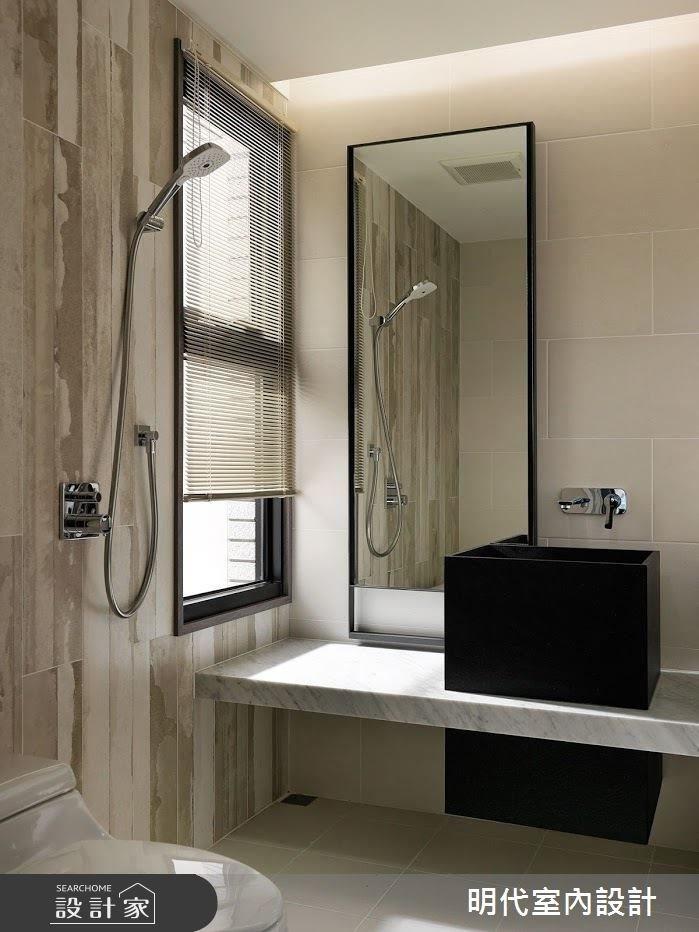 40坪新成屋(5年以下)_現代風浴室案例圖片_明代室內裝修設計有限公司_明代_29之25