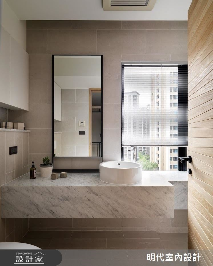 40坪新成屋(5年以下)_現代風浴室案例圖片_明代室內裝修設計有限公司_明代_29之26