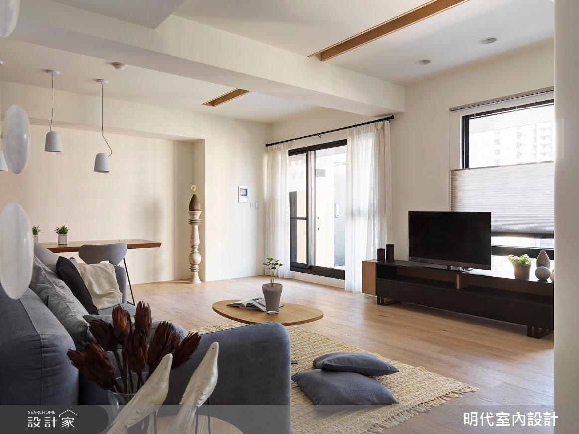 25坪新成屋(5年以下)_現代風客廳案例圖片_明代室內裝修設計有限公司_明代_30之4
