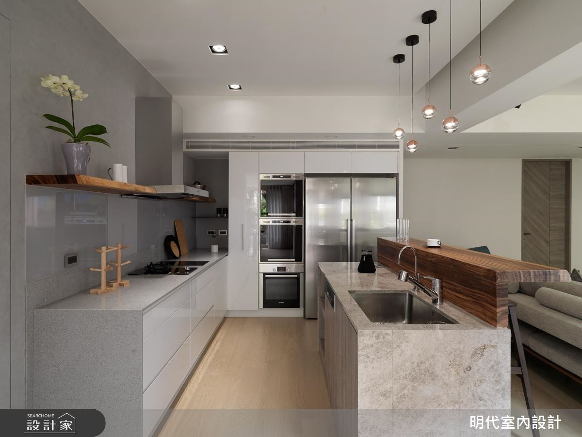 45坪中古屋(5~15年)_現代風廚房案例圖片_明代室內裝修設計有限公司_明代_32之9