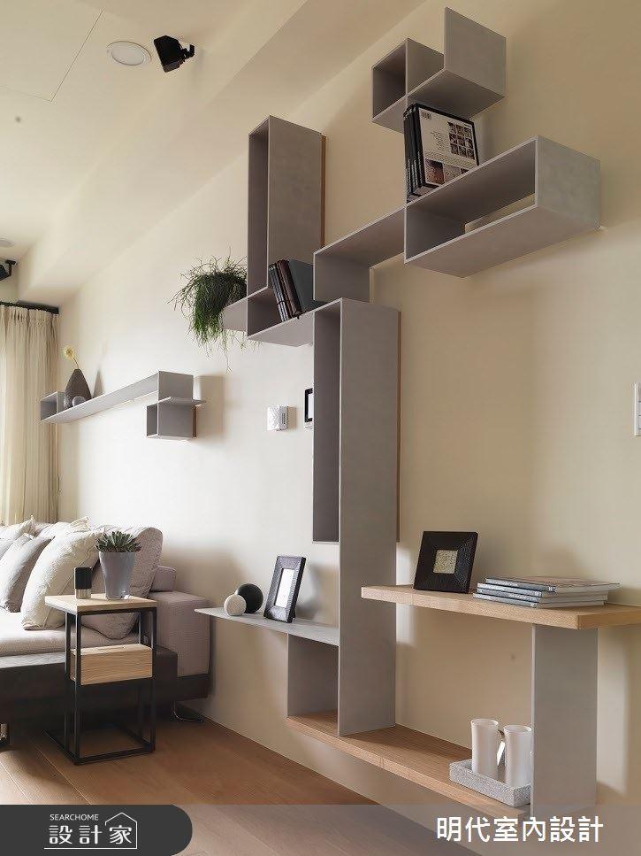 22坪新成屋(5年以下)_現代風客廳案例圖片_明代室內裝修設計有限公司_明代_33之5