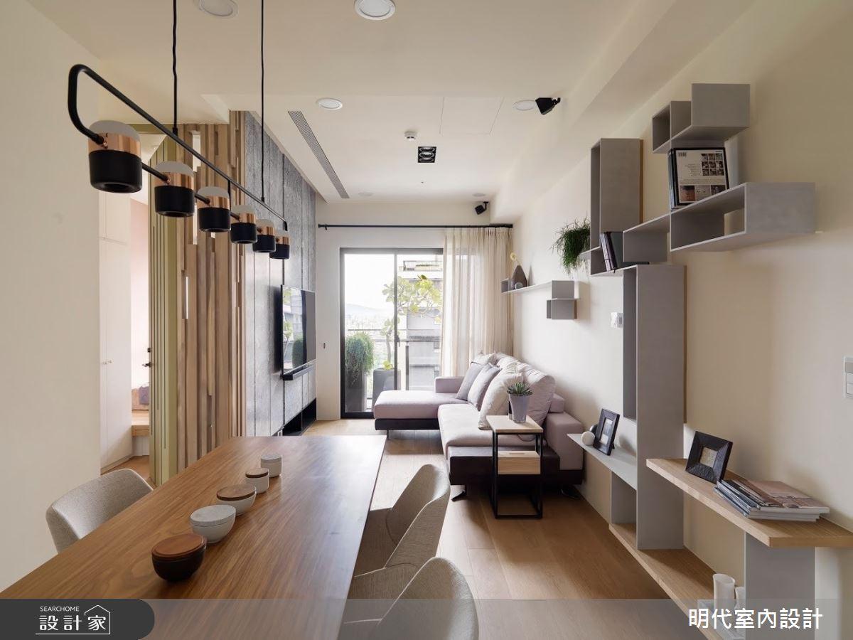 22坪新成屋(5年以下)_現代風餐廳案例圖片_明代室內裝修設計有限公司_明代_33之8