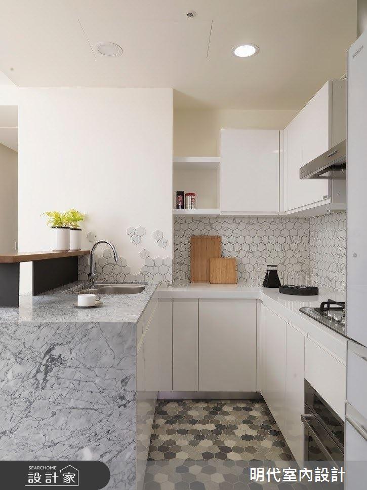 22坪新成屋(5年以下)_現代風廚房案例圖片_明代室內裝修設計有限公司_明代_33之14