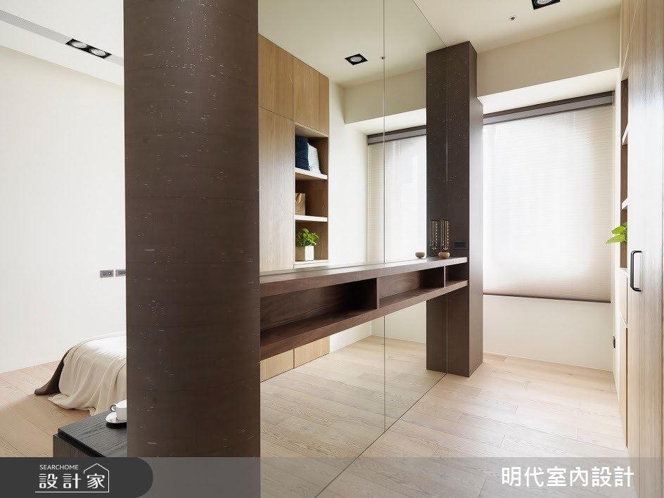 60坪新成屋(5年以下)_現代風臥室案例圖片_明代室內裝修設計有限公司_明代_34之25