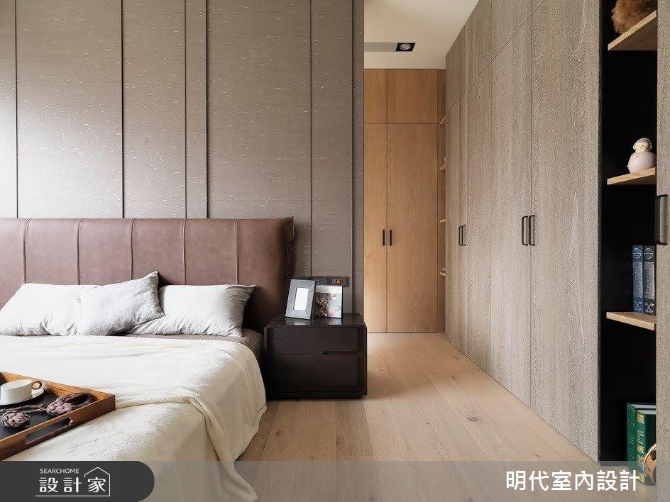 60坪新成屋(5年以下)_現代風臥室案例圖片_明代室內裝修設計有限公司_明代_34之24