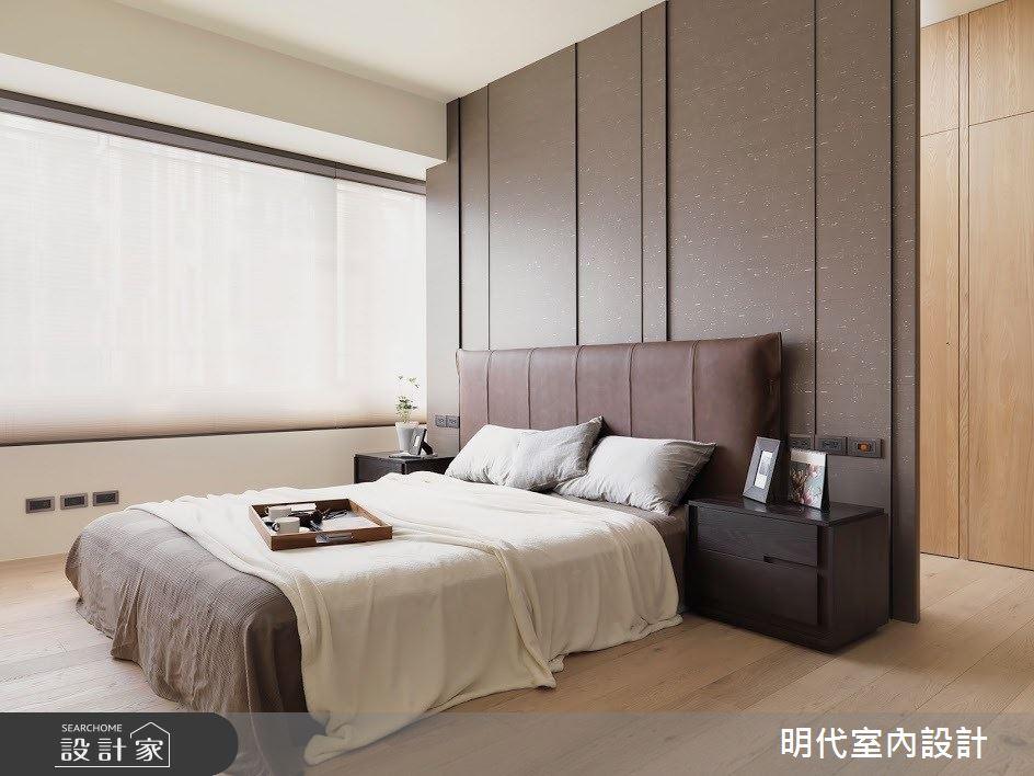 60坪新成屋(5年以下)_現代風臥室案例圖片_明代室內裝修設計有限公司_明代_34之23