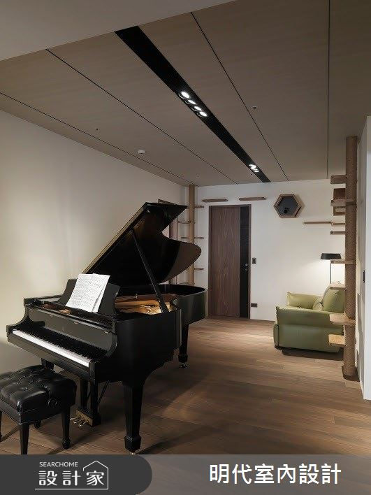 60坪新成屋(5年以下)_現代風多功能室案例圖片_明代室內裝修設計有限公司_明代_34之21