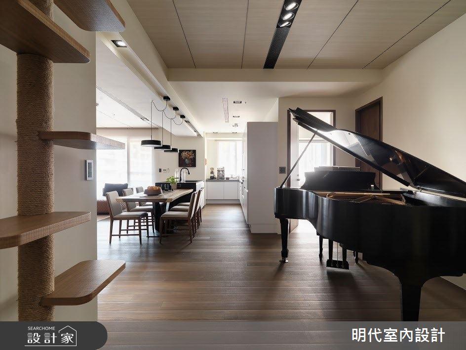 60坪新成屋(5年以下)_現代風多功能室案例圖片_明代室內裝修設計有限公司_明代_34之19