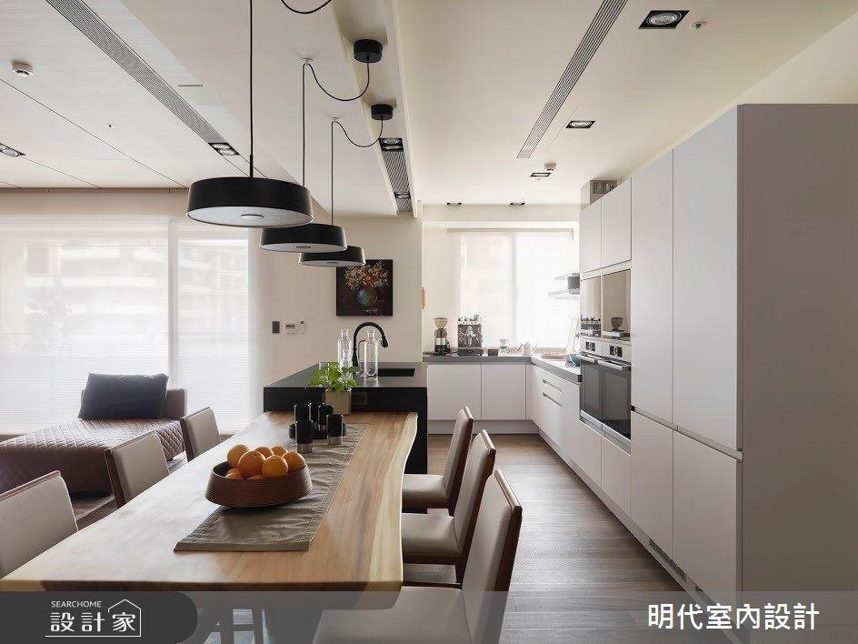 60坪新成屋(5年以下)_現代風餐廳案例圖片_明代室內裝修設計有限公司_明代_34之18