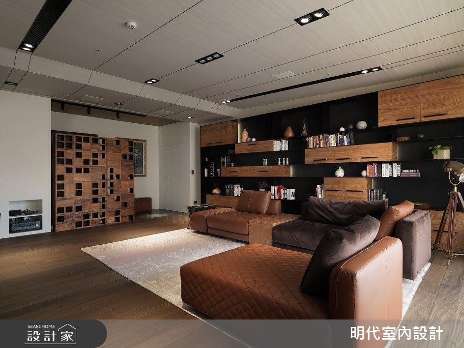 60坪新成屋(5年以下)_現代風客廳案例圖片_明代室內裝修設計有限公司_明代_34之8