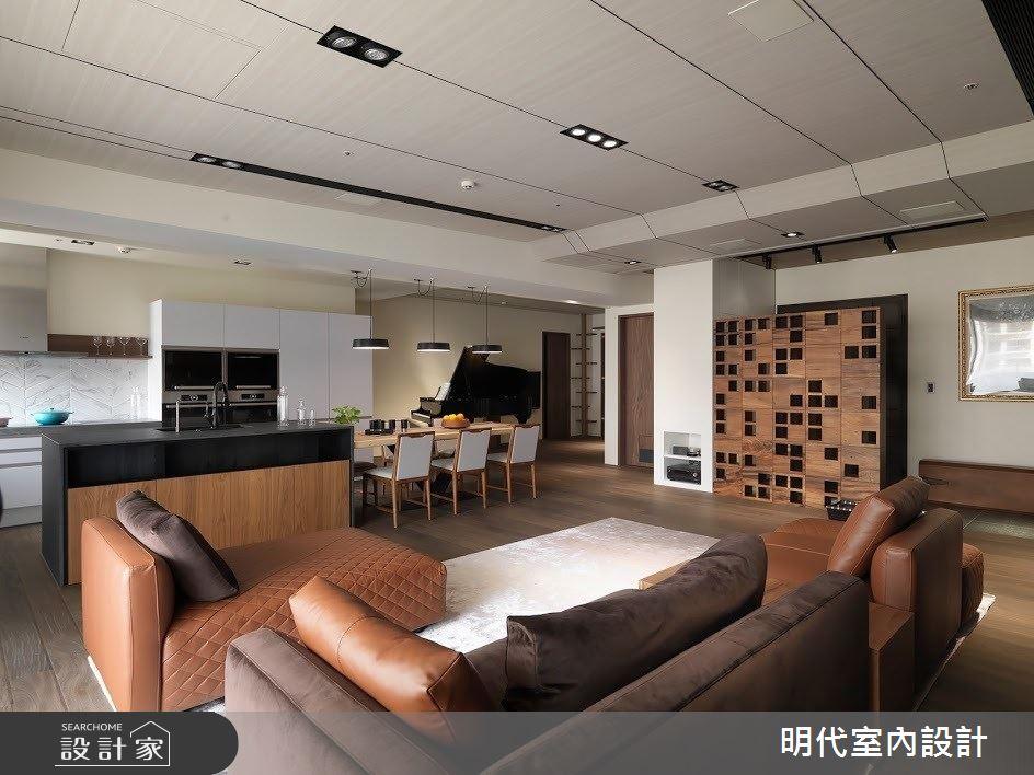 60坪新成屋(5年以下)_現代風客廳案例圖片_明代室內裝修設計有限公司_明代_34之7
