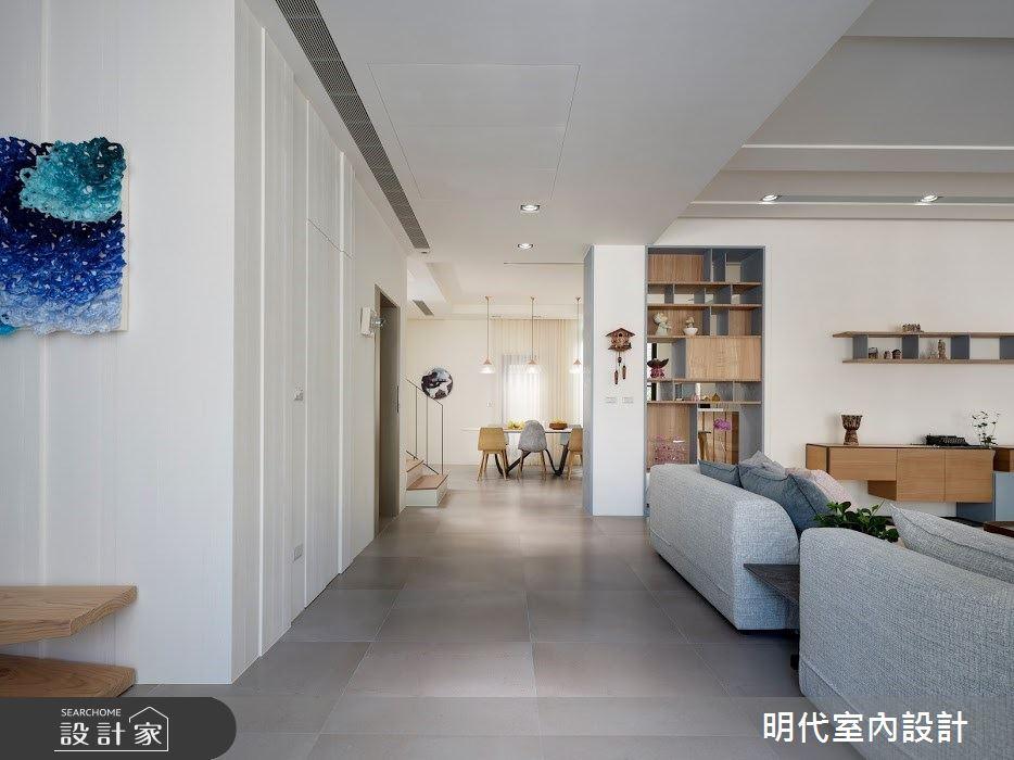 100坪新成屋(5年以下)_簡約風案例圖片_明代室內裝修設計有限公司_明代_35之6