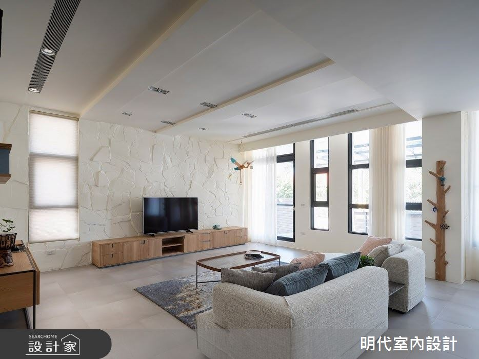 100坪新成屋(5年以下)_簡約風案例圖片_明代室內裝修設計有限公司_明代_35之8