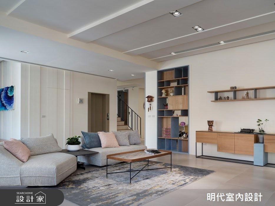 100坪新成屋(5年以下)_簡約風案例圖片_明代室內裝修設計有限公司_明代_35之10