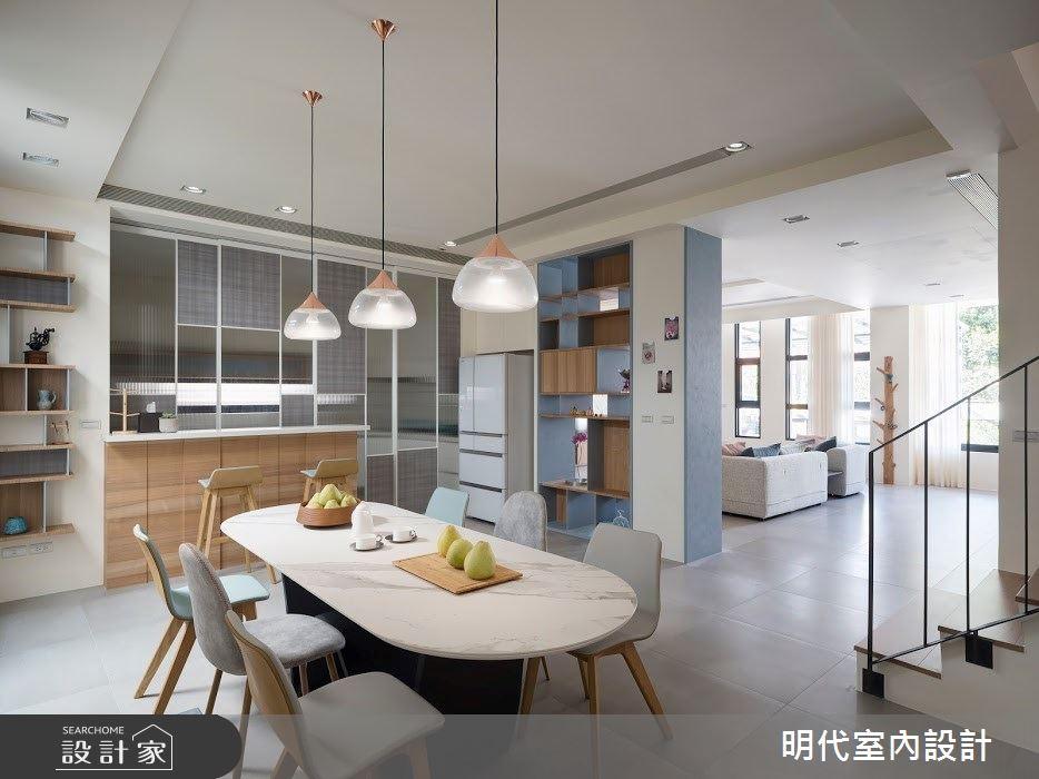100坪新成屋(5年以下)_簡約風案例圖片_明代室內裝修設計有限公司_明代_35之11