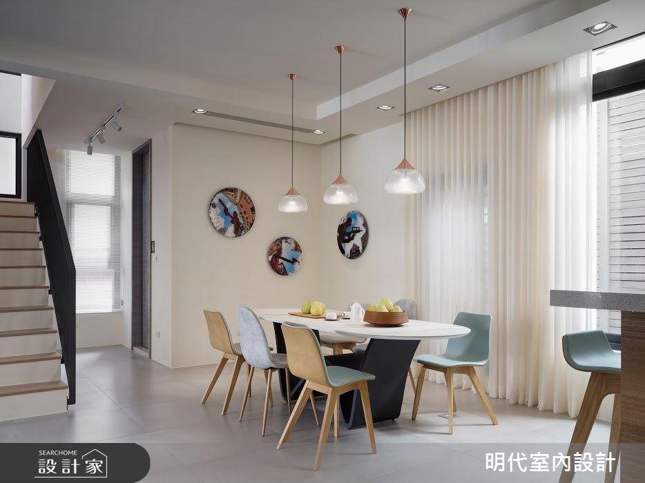 100坪新成屋(5年以下)_簡約風案例圖片_明代室內裝修設計有限公司_明代_35之13