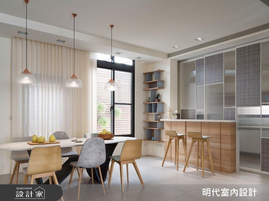 100坪新成屋(5年以下)_簡約風案例圖片_明代室內裝修設計有限公司_明代_35之15