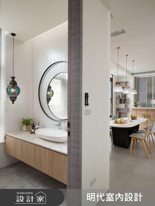 100坪新成屋(5年以下)_簡約風案例圖片_明代室內裝修設計有限公司_明代_35之17
