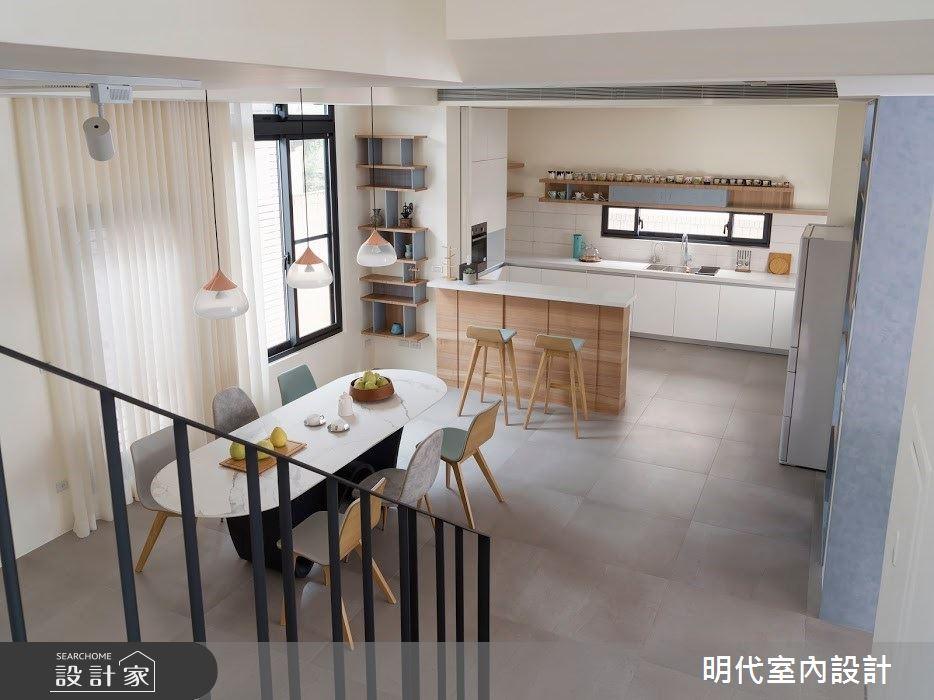 100坪新成屋(5年以下)_簡約風案例圖片_明代室內裝修設計有限公司_明代_35之18