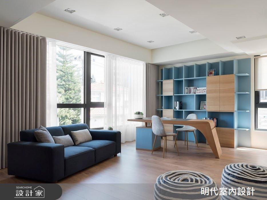 100坪新成屋(5年以下)_簡約風案例圖片_明代室內裝修設計有限公司_明代_35之20